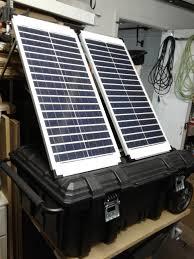 solar generator built