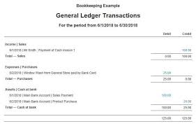 Ledger Example Bookkeeping Example Of Business Transaction Journal Ledger