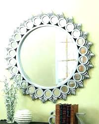 contemporary round mirrors modern for walls wall decorative large mirr