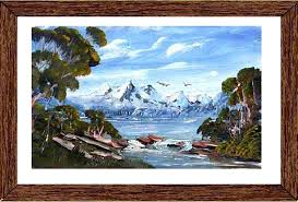 acrylic painting lessons paint snow capped peaks coloring book free abstract acrylic painting lessons