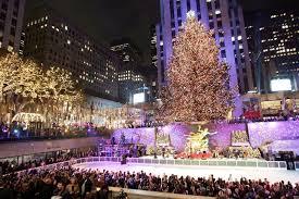 The Rockefeller Center Christmas tree seen in 2006.