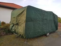 Wohnwagen Abdeckplane Schutzhülle Robust Und Geschützt Im Winter