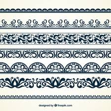 Border Patterns Simple Border Vectors Photos And PSD Files Free Download