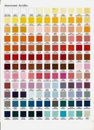 Decoart Americana Color Conversion Chart To Delta
