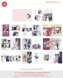 Wedding Album Templates Indesign 20 Pages Wedding Photo Album Design Template 12x15 Modern