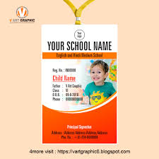 Identity Card Format For Student New Student Id Card Design Template Freelance Graphic Design