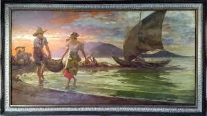 02 1942 fernando amorsolo fishing scene