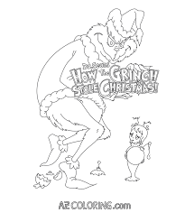 With Coloring Pages Of The Grinch Coloring Pages
