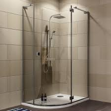 Cooke & Lewis Luxuriant Offset Quadrant Shower Enclosure with Hinged Door  (W)1200mm (D)900mm | Departments | DIY at B&Q