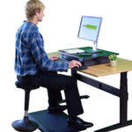 ergonomic chair betterposture saddle chair. uncaged ergonomics wobble stool review ergonomic chair betterposture saddle