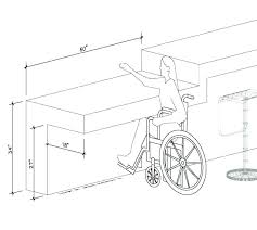 sinks kitchen compliant sink throughout requirements drawing ada dimensions complia