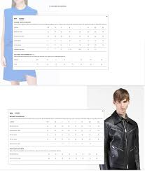 Hugo Boss Shirt Size Chart Uk Costume National Sizing Charts Buck Zinkos