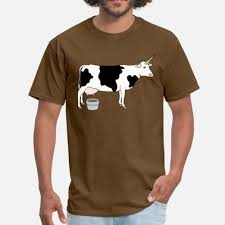design dairy cow magical unicorn dairy milk cow men 39 s t