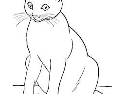 Halloween Black Cat Coloring Pages Westwoodgolforg