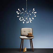 heracleum ii small led chandelier modern branch chandelier e38