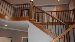 awesome stair railings ellerman woodworking in stair railings wood