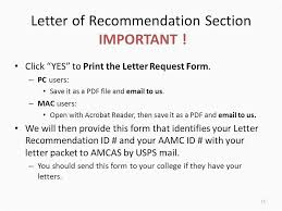 Amcas Letter Of Recommendation Picture How To Get Letters Re