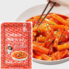 Korean Food Spicy Rice Cake Tteokbokki Instant Powder Sauce 50g 02