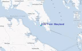 Tide Chart Assateague Island Md Kitts Point Maryland Tide Station Location Guide