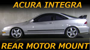 94 01 acura integra rear engine mount removal and install 94 01 acura integra rear engine mount removal and install