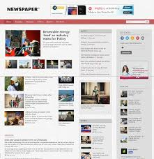 Newspaper Blogger Template Magdalene Project Org