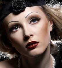 1930s makeup style3 1930 39 s makeup with a touch of light pink was known as