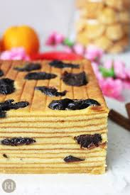 Indonesian Prune Layer Cake Foodelicacy