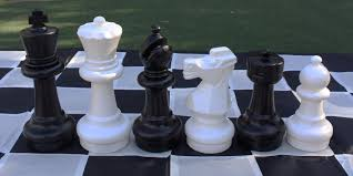 garden chess set. 64cm Large Garden Chess Set *SOLD OUT - Next Stock Again Middle May* H