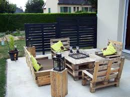 euro pallet furniture. Outdoor Dining 60 DIY Furniture From Euro Pallets - Amazing Craft Ideas For You Pallet O