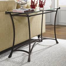 contemporary metal furniture. Contemporary Metal Sofa Table With Glass Top Furniture E