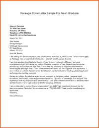 paralegal cover letter  general resumes