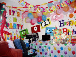 wall decoration ideas for birthday party luxury easy wall