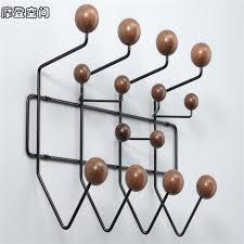Ball Coat Rack Modern FurnitureWalnut solidwood ball wall coat rackcabide coat 91