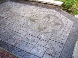 stamped concrete patio 16