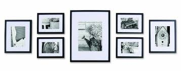 picture frames on wall simple. Pinnacle Black Solid Wood Wall Frame Kit Set With Usable Artwork. Includes Frames Matted To 2 Picture On Simple I