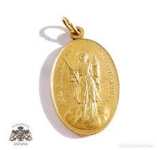 medalla santa barbara de los artilleros 1893 madrid militar medallas españolas originales