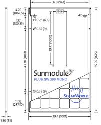 solarworld sunmodule sw 290 mono solar panel wholesale price Solar DC Disconnect Wiring Diagram solarworld sw 290 solar panel dimensions