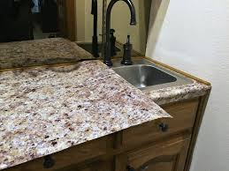 Fake Granite Kitchen Countertops Transform Your Countertops With A Diy Fake Granite Counter Three