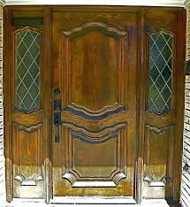 mahogany front door. Refinish Door Hardware Refinishing A Front Doors Staining Mahogany Outside Trendy Colors Our Refinished And