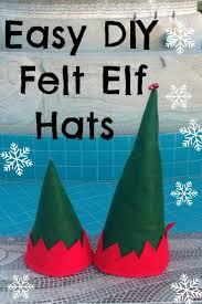 Elf Hat Pattern Inspiration Easy DIY Felt Elf Hat Pattern So Sew Easy