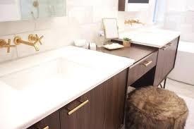 kohler bathroom vanity walnut vanity with long brass pulls kohler bathroom vanities canada