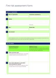 Fire Risk Assessment Form   National Churches Trust