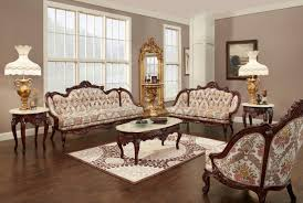 Provincial Living Room Furniture Victorian Living Room 643 Victorian Furniture