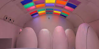 These <b>egg</b>-<b>shaped</b> toilet pods are stalls <b>in</b> a London bathroom ...