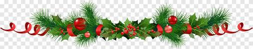 Ornement de Noël houx commun Décoration de Noël Père Noël, guirlandes, Houx  commun, décoration de Noël png | PNGEgg