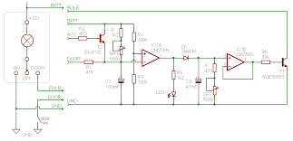 dome light dimmer (with delay) circuitdb courtesy light wiring diagram dome light dimmer (with delay)