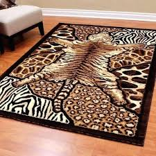 faux animal rug s tiger print rug faux fur animal rugs faux cowhide rug uk