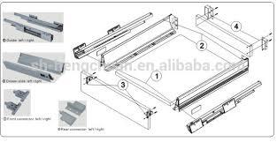 soft close drawers box: silent close drawer slidesblum soft close metal box drawer slidetandem box sliding