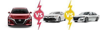 Nissan Altima Comparison Chart Compare Altima Over The Accord Camry L Mclarty Nissan Of