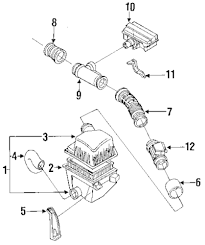 Genuine mazda resonator bracket maz g6011319zb